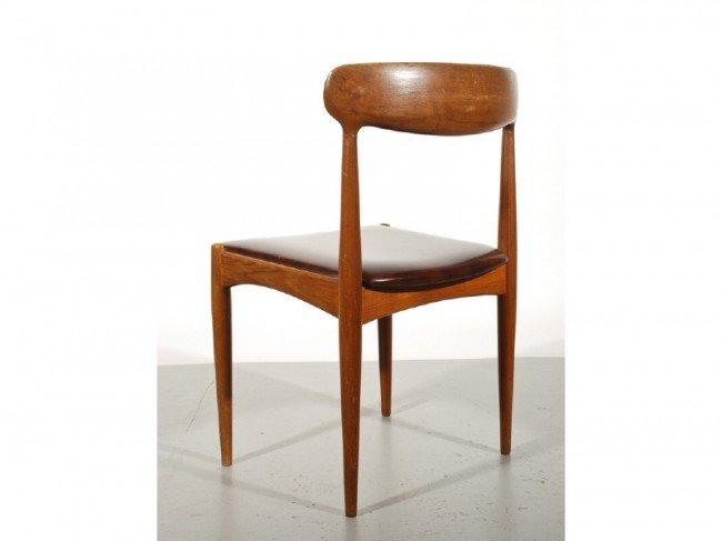 59: Set of 6 Teak Danish Chairs by Johannes Andersen - 3
