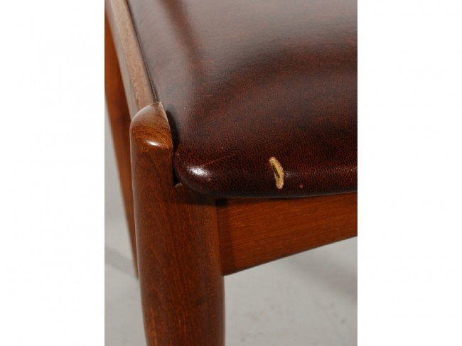 59: Set of 6 Teak Danish Chairs by Johannes Andersen - 5