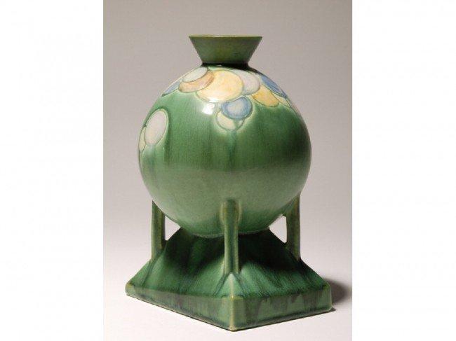 156B: Futura Roseville Art Pottery Balloon Vase