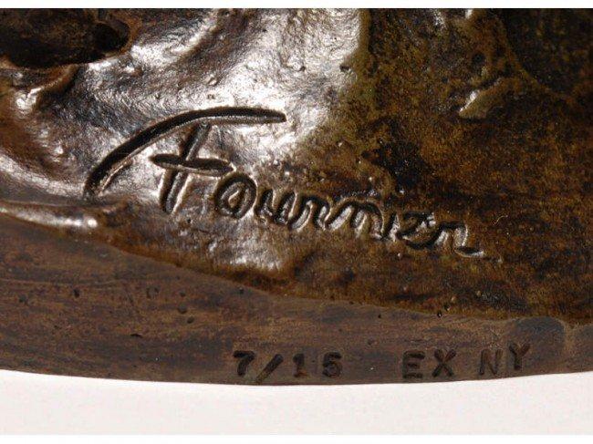 175: Bronze Audrey Fournier Scotty Art Deco Sculpture - 4