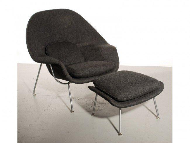 285 mid century modern saarinen womb chair u0026 ottoman