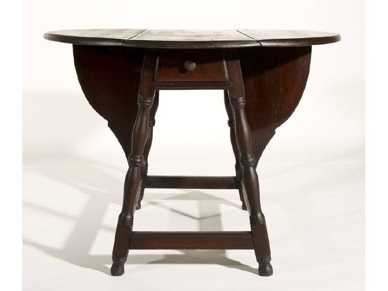 23: Cherry 18 Century American Butterfly Dropleaf Table