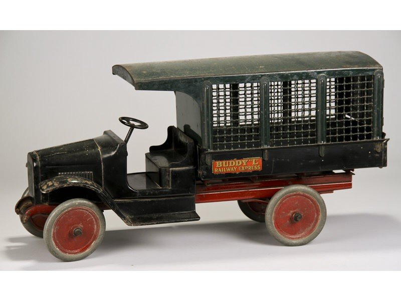 37: Original Buddy L Railway Express Screen Side Truck