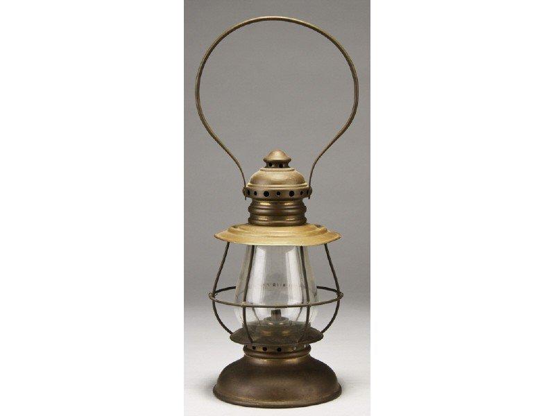 54: Presentation 1866 Railroad RR - Whale Oil Lantern