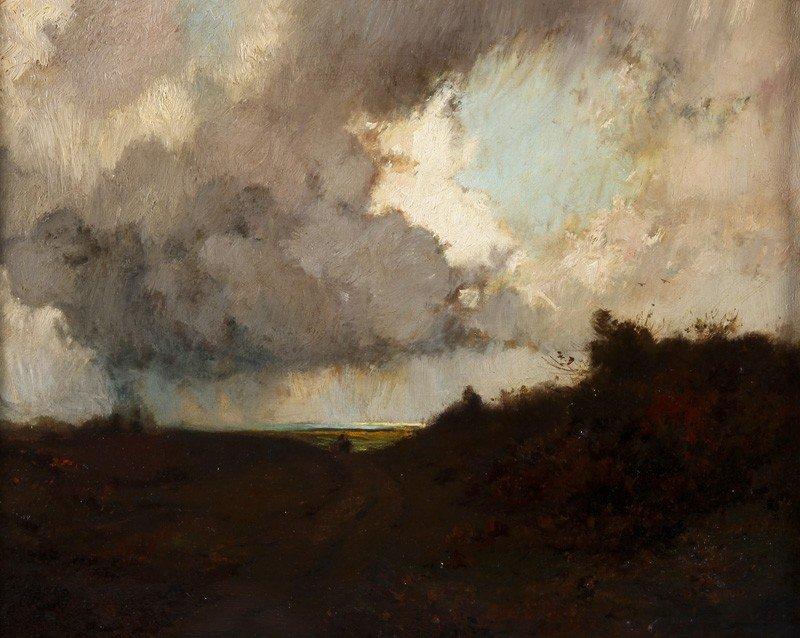 69: William John Whittemore Oil Painting Landscape