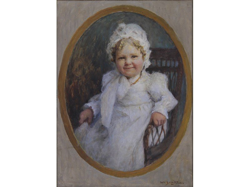 70: Wm. J. Whittemore 1860-1955 Self Portrait Painting