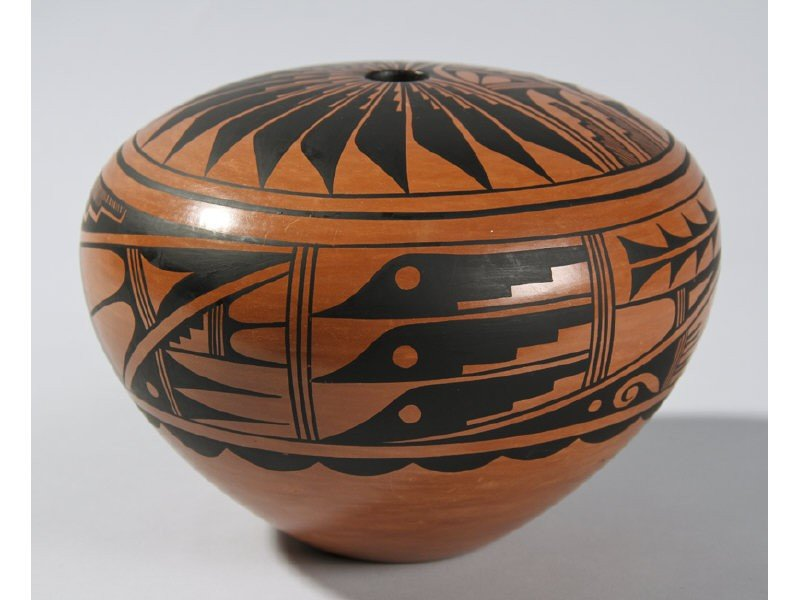 71: G Sandia J Jemez - Native American Indian Acoma Jar