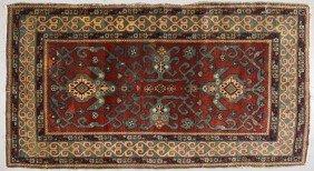 """Semi Antique 1920s Persian Oriental Rug 6'2 X 3'3"""""""