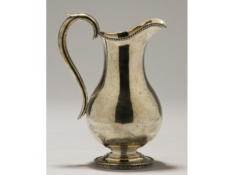 95: Coin Silver 19C R&W  Wilson Classical Milk Pitcher