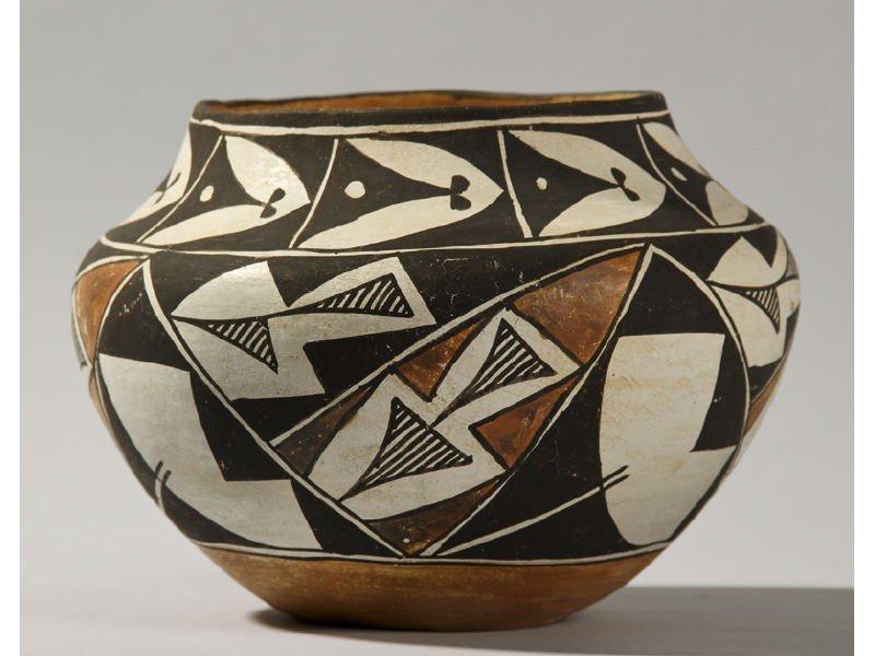 177: Acoma Pottery Jar 1961 Laguna New Mexico