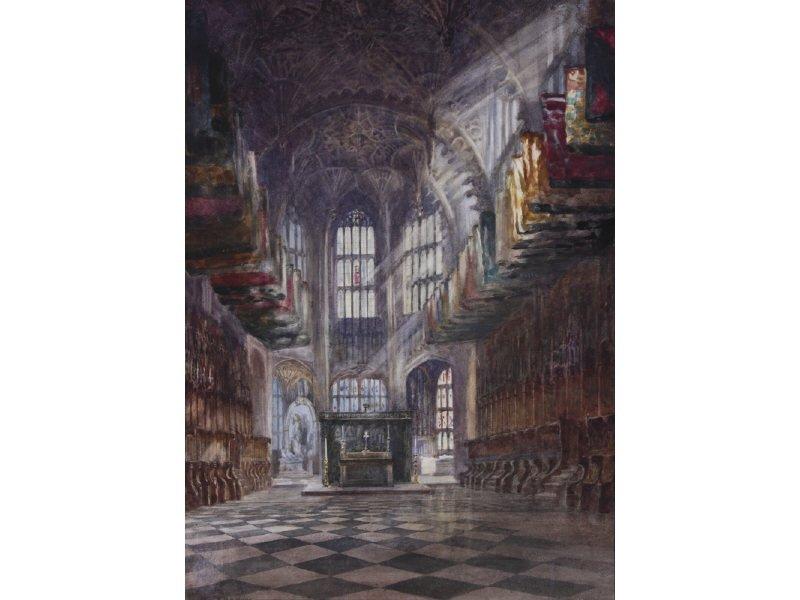 Emily M B Warren (1870-1956) Westminster Abbey WC