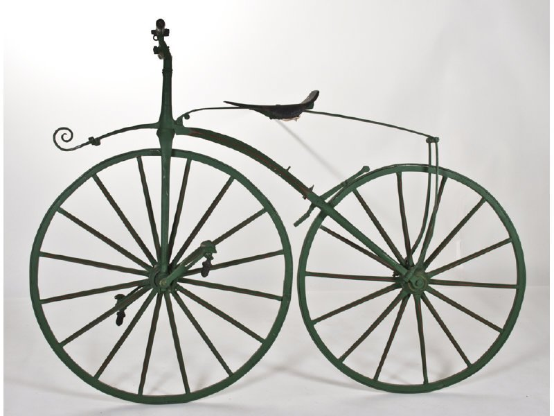 Early English Boneshaker Velocipede Bicycle - 2