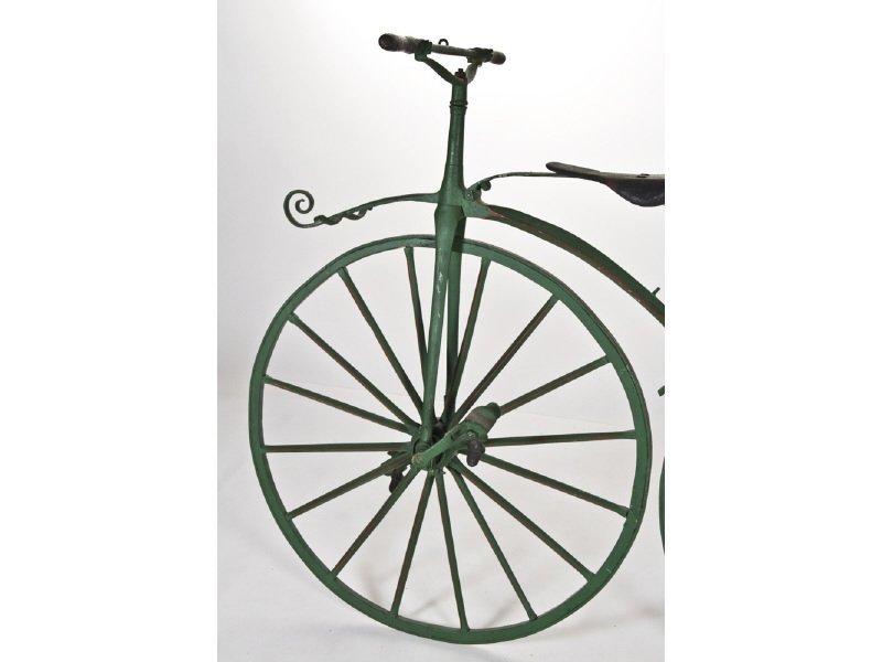 Early English Boneshaker Velocipede Bicycle - 3