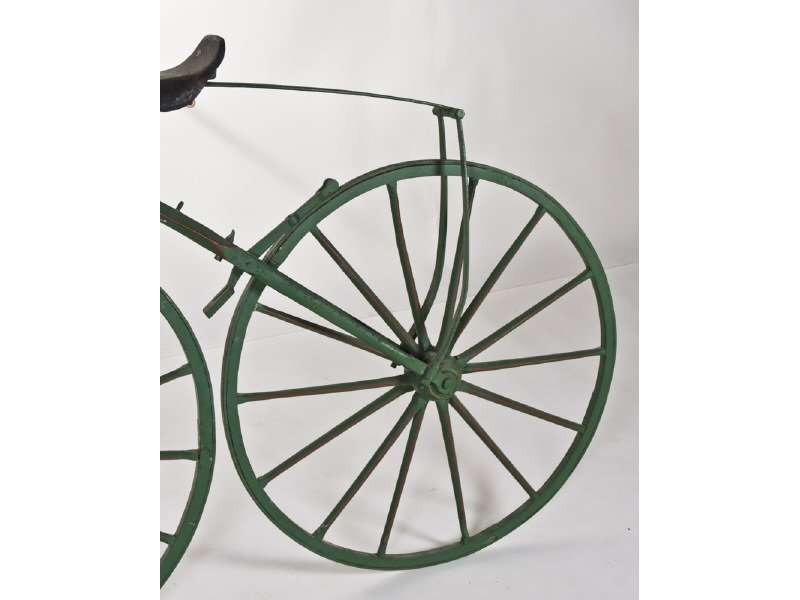 Early English Boneshaker Velocipede Bicycle - 5