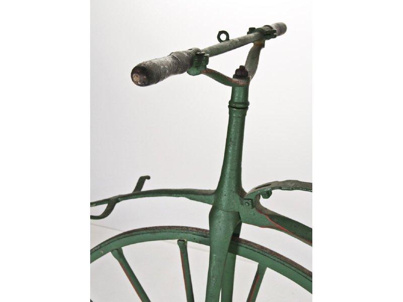 Early English Boneshaker Velocipede Bicycle - 9