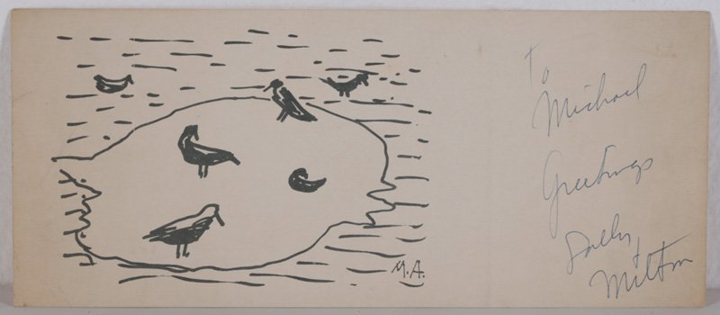 MILTON AVERY (American 1885-1965) Christmas Card Prints - 3