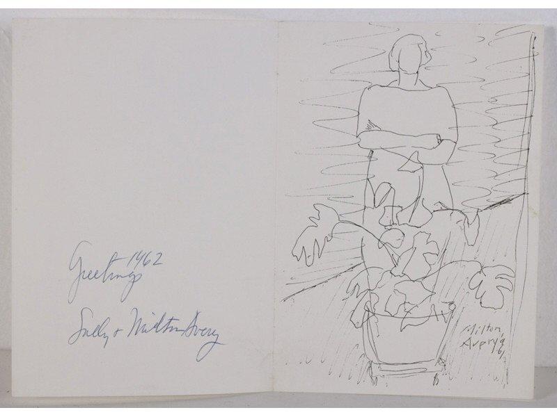 MILTON AVERY (American 1885-1965) Christmas Card Prints - 5