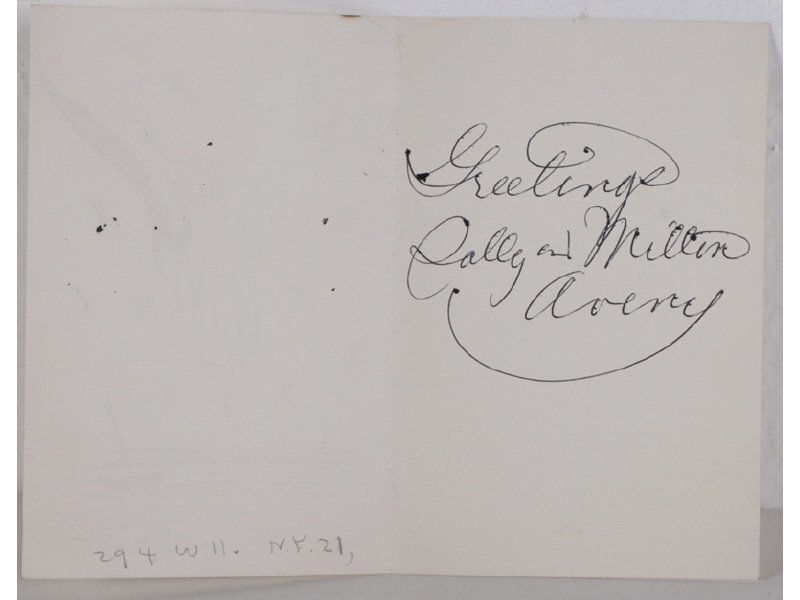 MILTON AVERY (American 1885-1965) Christmas Card Prints - 8