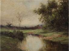 ARTHUR E. BLACKMORE (New York 1854-1921) Painting