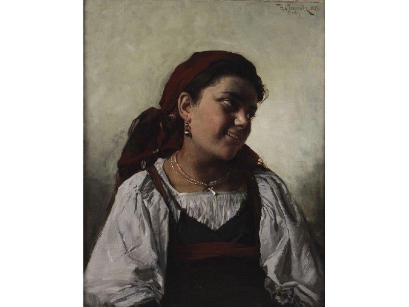 HERMANN CLEMENTZ (German, 1852-1930) Painting