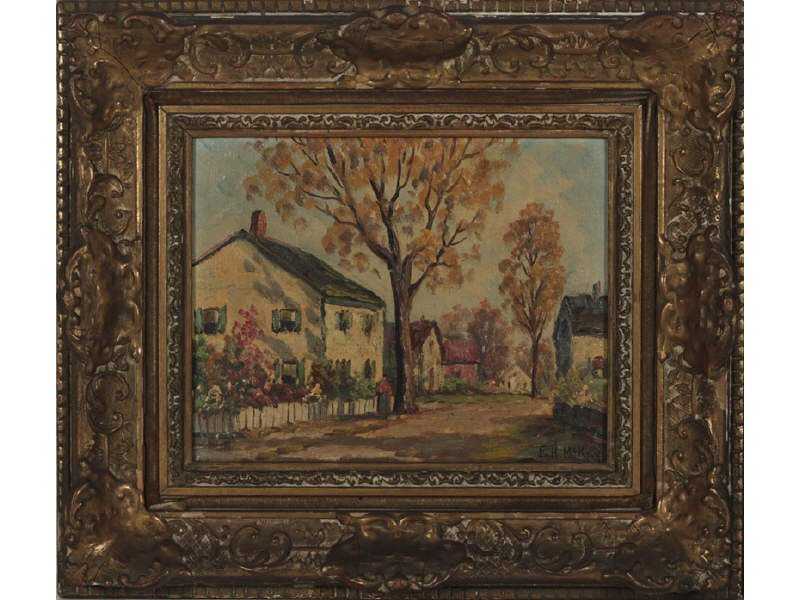 F. H.  MCKAY (American) Pair Oil Paintings - 2