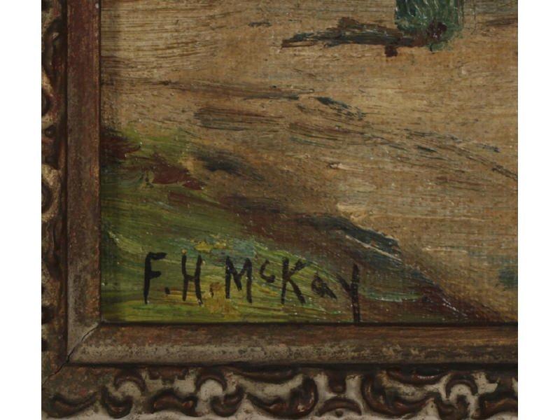 F. H.  MCKAY (American) Pair Oil Paintings - 4