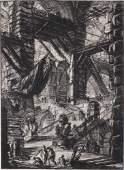 GIOVANNI B. PIRANESI - Etching Engraving Print