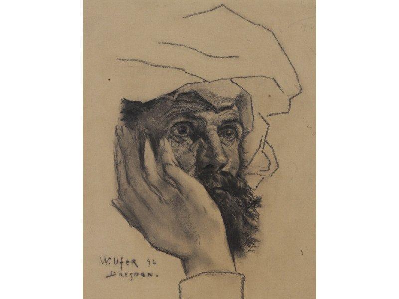 WALTER UFER (American, 1876-1936) Drawing