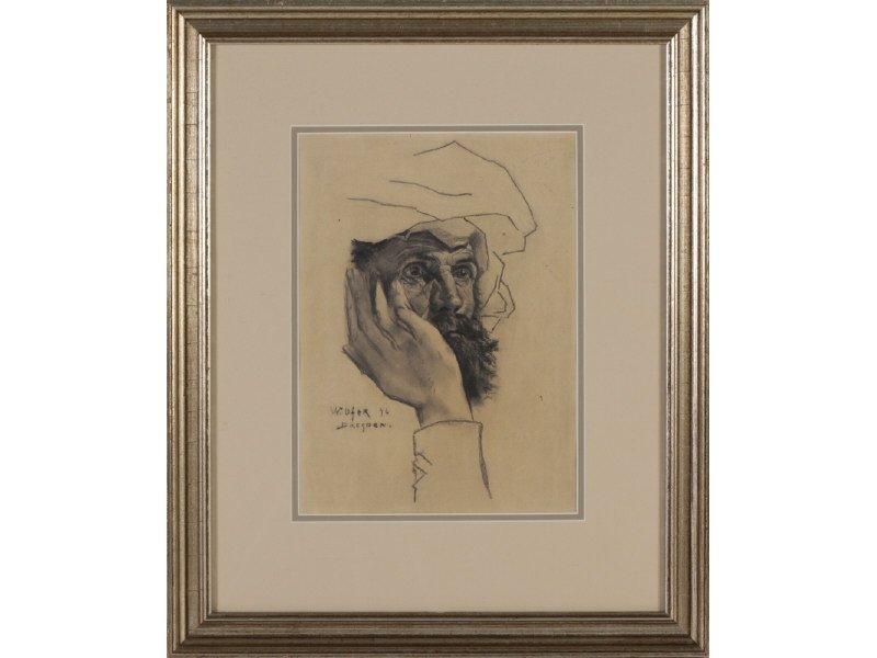 WALTER UFER (American, 1876-1936) Drawing - 2