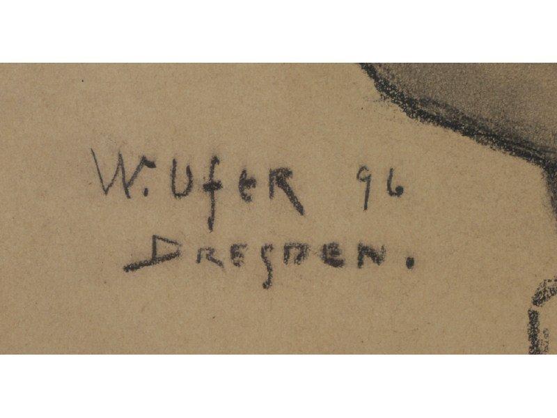 WALTER UFER (American, 1876-1936) Drawing - 4
