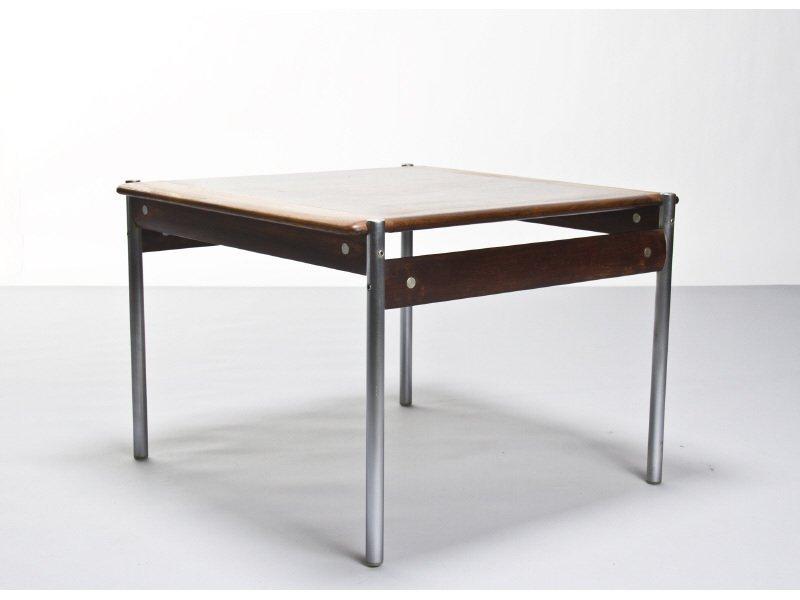 Rosewood Danish Modern Side Table by Sven Ivar Dysthe