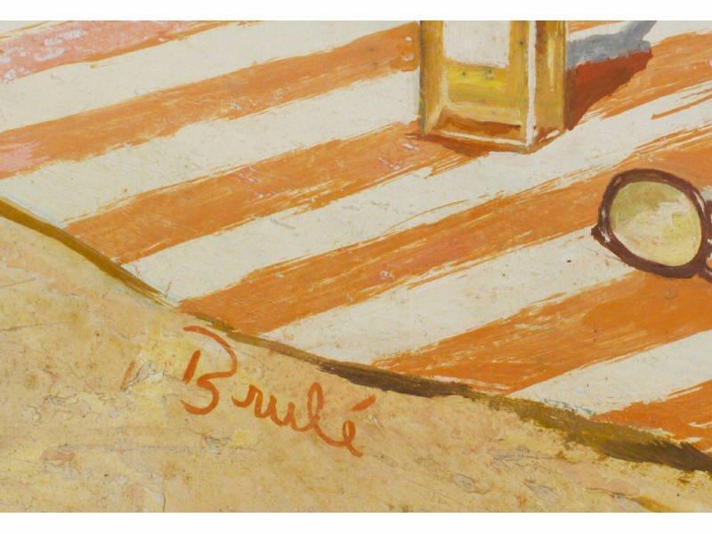 Al Brule American Illustrator Pin Up Nude Painting - 3