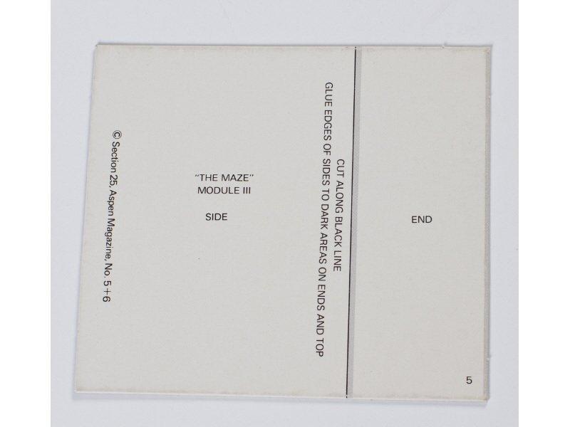Aspen: The Magazine in a Box No. 5 & 6 Minimalism - 4