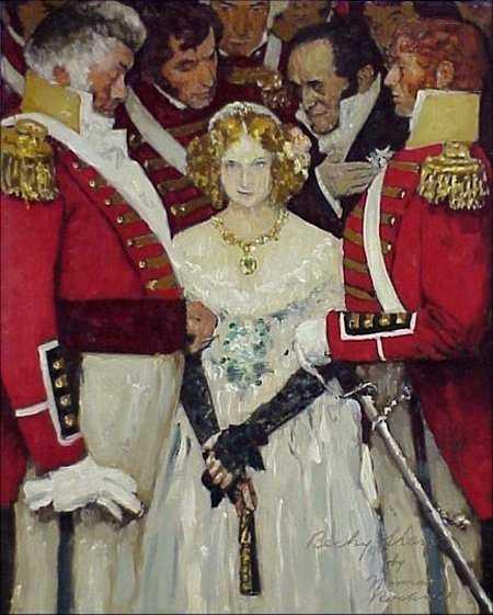 152 Rare Original Norman Rockwell Painting