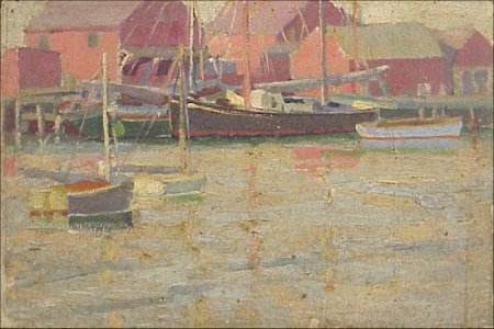 8: Gloucester Rockport Painting (1915-1930)