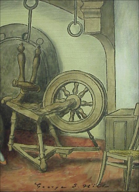 105: George Snow Hill American Oil Painting  - 4