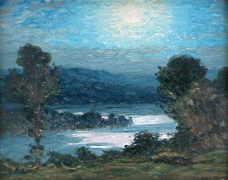 191: Gustave Wiegand (1870-1957) Oil Painting