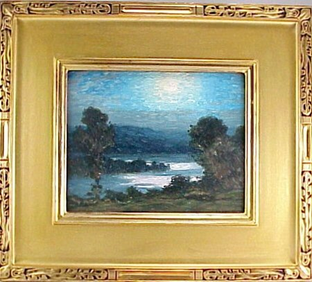 191: Gustave Wiegand (1870-1957) Oil Painting - 2
