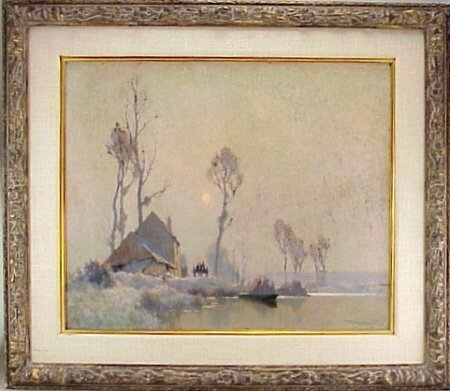 234: Alexandre Jacob 1876-1972French Painting - 2