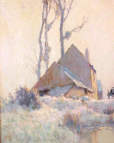 234: Alexandre Jacob 1876-1972French Painting - 4