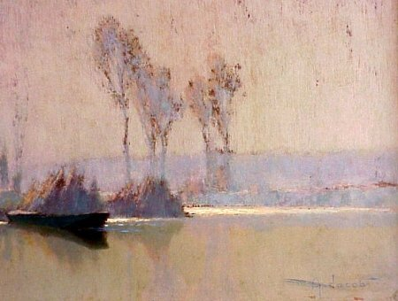 234: Alexandre Jacob 1876-1972French Painting - 6