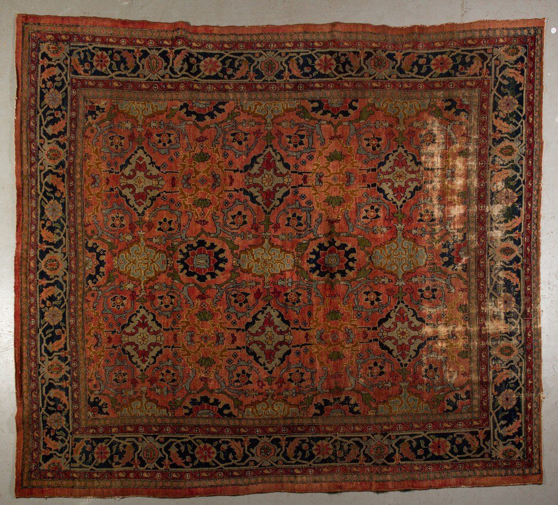 Antique Lillihan Oriental Persian Carpet Rug 10'x8'