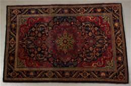 "Antique Persian Oriental Handmade 6.8""x4.5"" Rug Carpet"