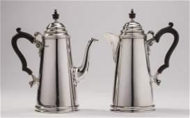 Fine English 1928 Sheffield Sterling Breakfast Tea Set
