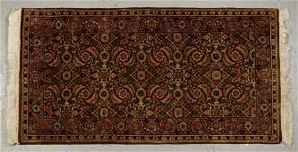 Old Sarouk Handmade Persian Oriental Rug 4' x 2'