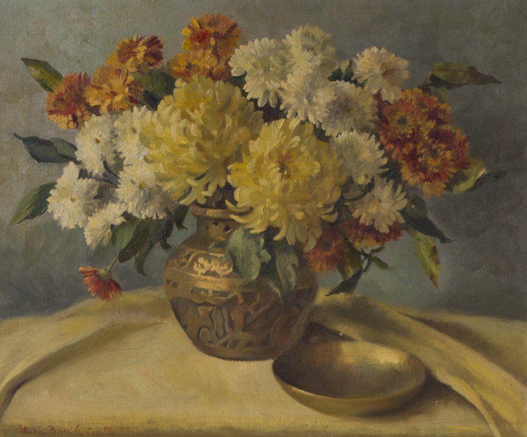 Cantarella, Maria B. (American, 1909-1966) Oil Painting