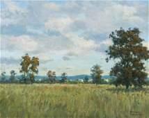 Foerster, Herbert (American, 1910-2000) Oil Painting