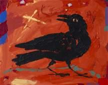 McIntire, Scott (American, 20C) Folk Art Oil Painting