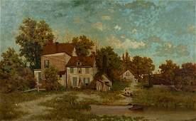 Phelan, T. Charles (American, NY 1849) Oil Painting