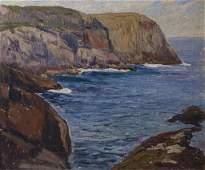 Schneider, Theophile (1876-1960) Monhegan Oil Painting